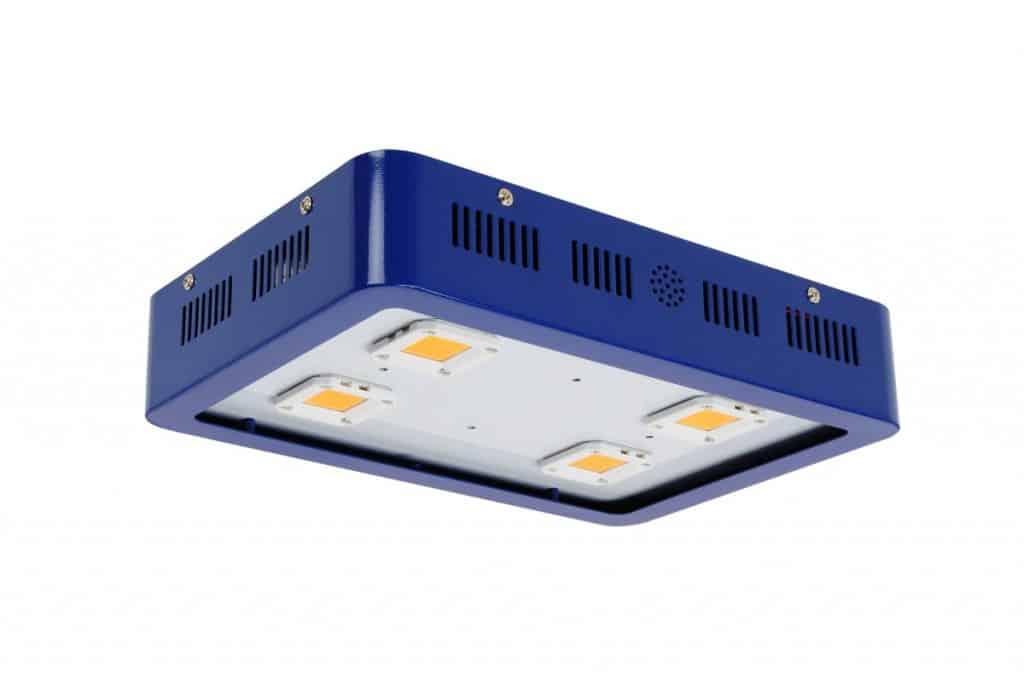 full-spectrum LED lights isolated on white