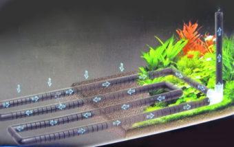 Aquarium Equip Undergravel Filteration Bottom Circular Bar