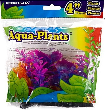 10Penn-Plax Betta Multi-Color Aquarium Plants