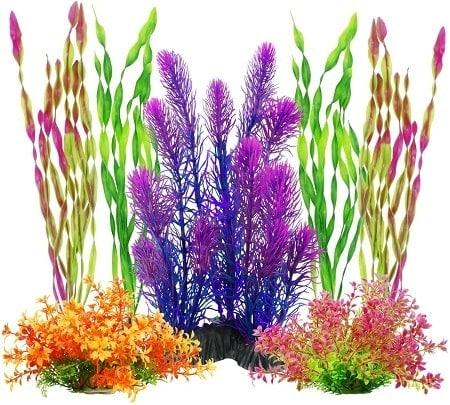 7MyLifeUNIT Artificial Aquariums Plants Plastic Fish Tank