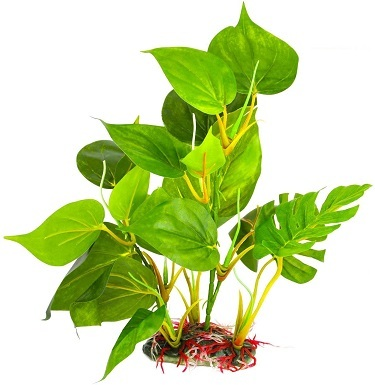 9SunGrow Plastic Leaf Plant for Freshwater