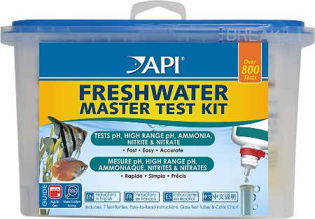 API Freshwater Aquarium Master Test Kit, 800 count