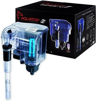 Aquatop Hang-On Back Aquarium UV Sterilizer Power Filter
