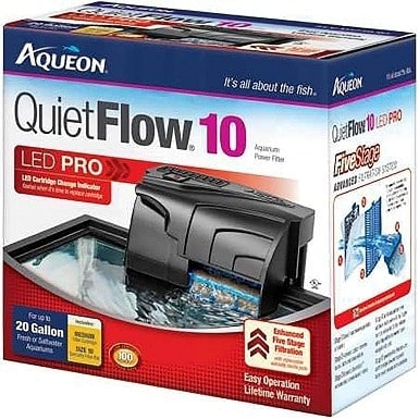 Aqueon QuietFlow LED PRO