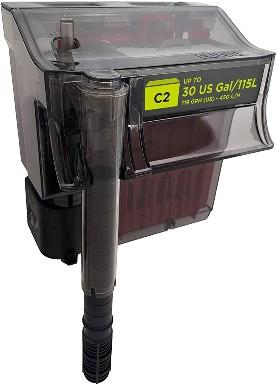 Fluval C Series Power Filter, Clip-On Aquarium Filter