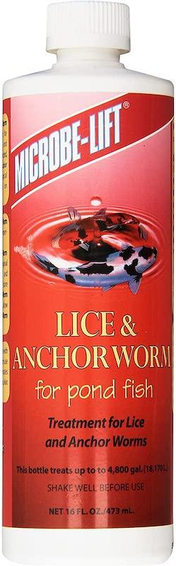 Microbe-lift lice treatment