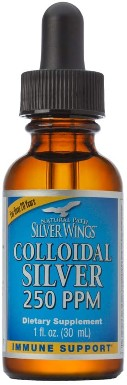 Natural Path Silver Wings Colloidal Silver Mineral Supplement