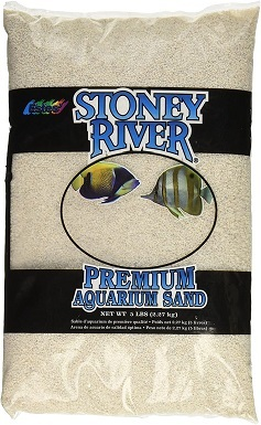 Stoney River White Aquatic Sand Freshwater