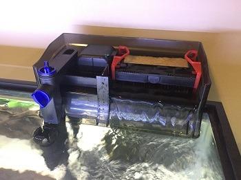 SunSun Hang-On Aquarium UV Sterilizer Back Filter 1