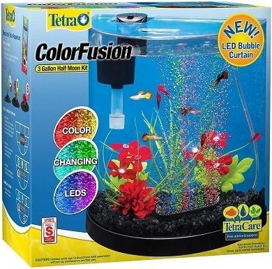 Tetra ColorFusion Half Moon Aquarium Kit